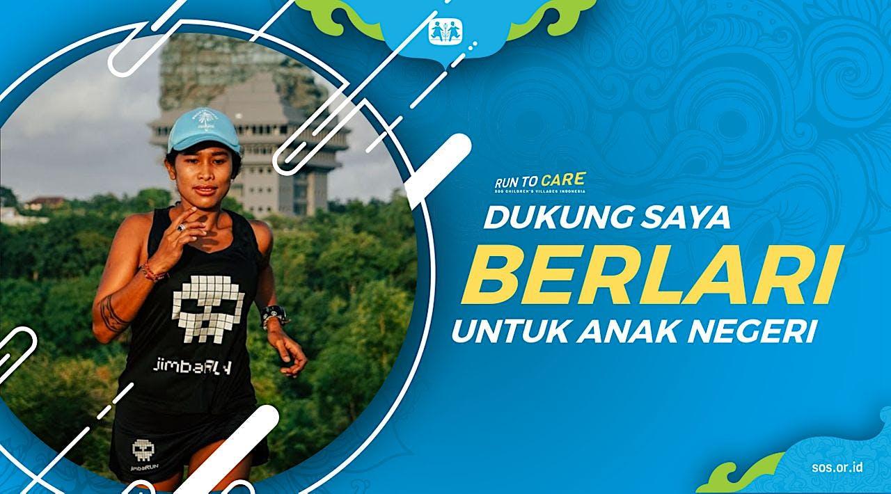 Endang berlari 150KM untuk Mimpi Anak Indonesia