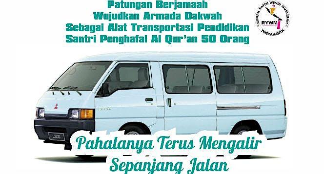 Patungan Kendaraan Santri Yatim Penghafal Al Quran