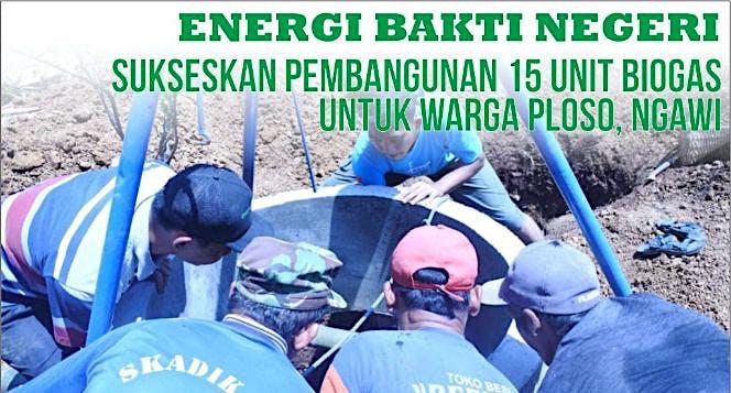 Energi Bakti Negeri - 15 Unit Biogas Unt Ds Ploso