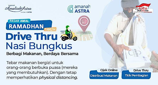 Drive Thru Nasi Bungkus Ramadhan