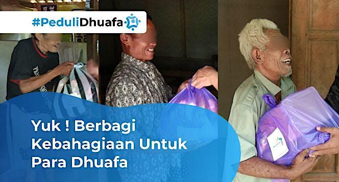Yuk ! Berbagi Kebahagiaan Untuk Para Dhuafa