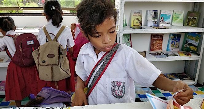 Perpustakaan Cerdaskan Anak NTT