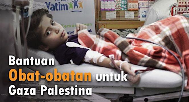Bantuan Medis Untuk 13.000 Korban Gaza