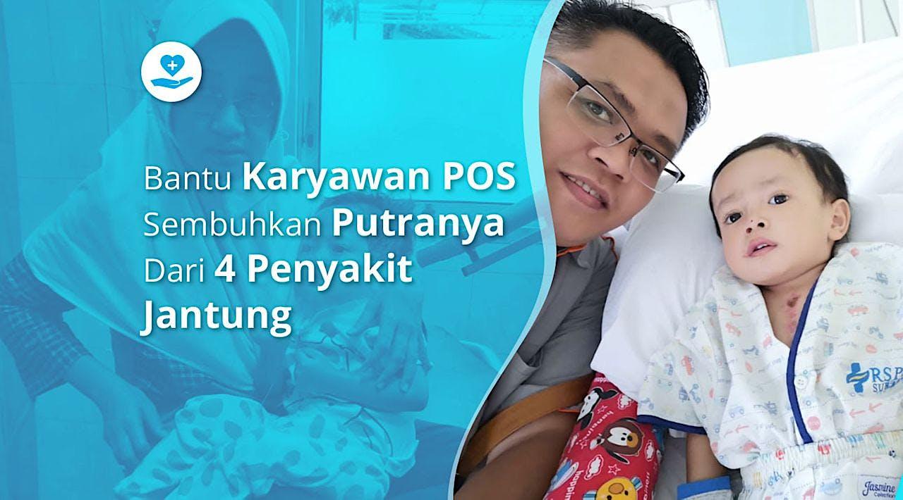 Bantu Ican, Anak Karyawan Pos Lawan TOF