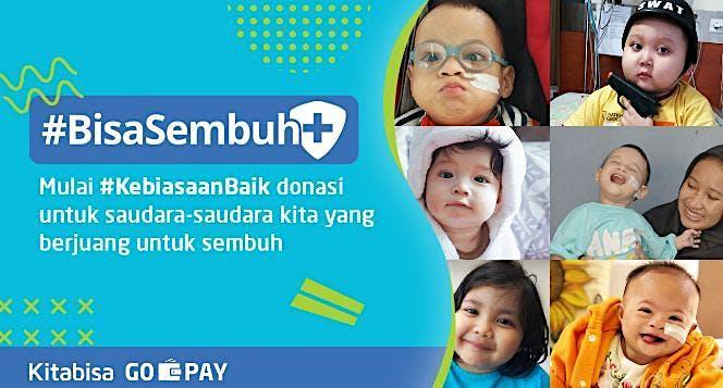 Mulai #KebiasaanBaik - Donasi Untuk BisaSembuh
