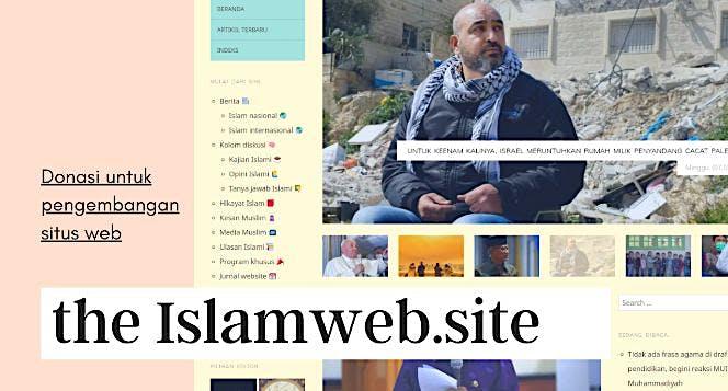 Yuk jadi supporter the Islamweb.site!