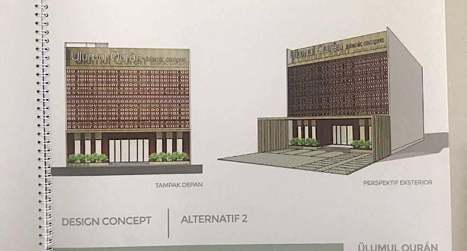 Waqaf Gedung Pusat Studi AlQuran LSUQ Bandung