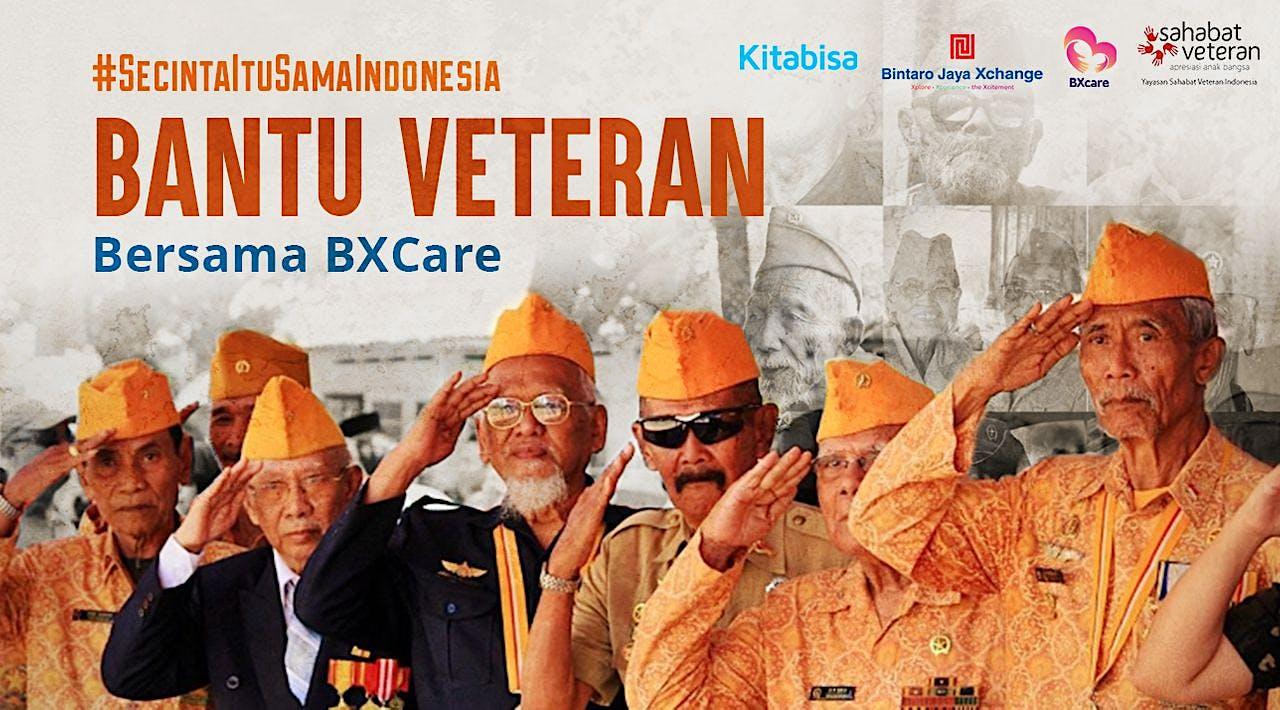 Bantu Veteran bersama BXCare