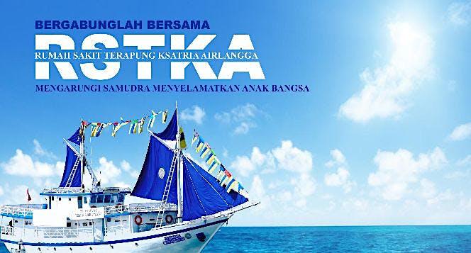 Bantu RSTKA mengarungi samudra menyelamatkan anak