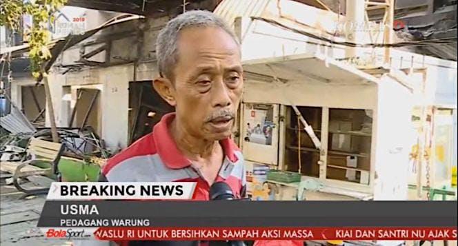 Bantu Pak Usma untuk jualan kembali