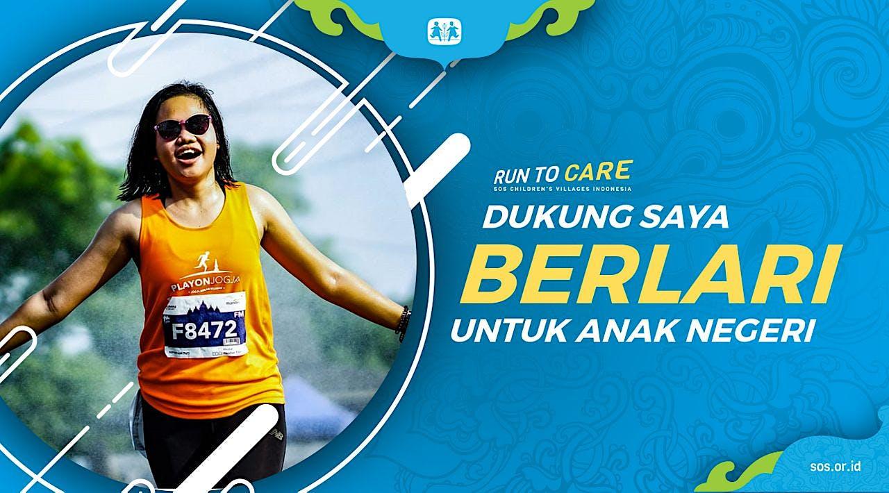 Septiyani Berlari 150KM untuk Mimpi Anak Indonesia