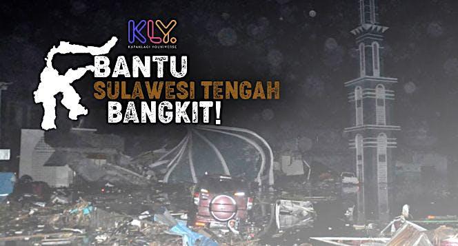 Bantu Sulawesi Tengah Bangkit!