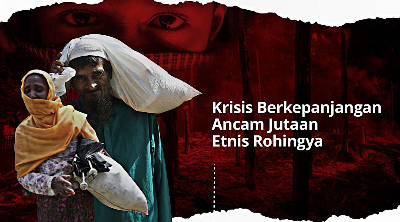 Bantu Ringankan Derita Etnis Rohingya
