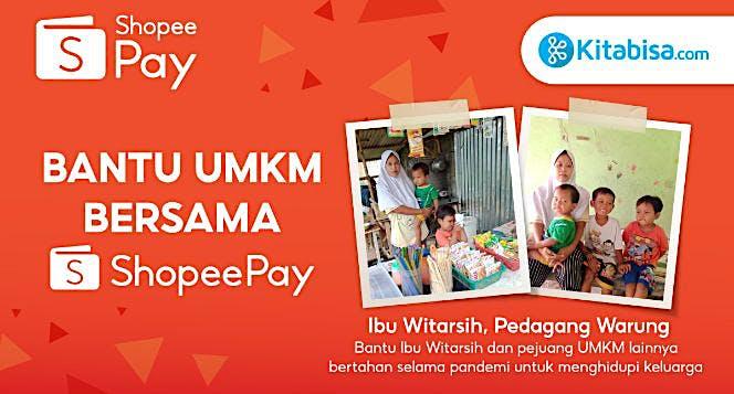 Bantu UMKM Bersama ShopeePay