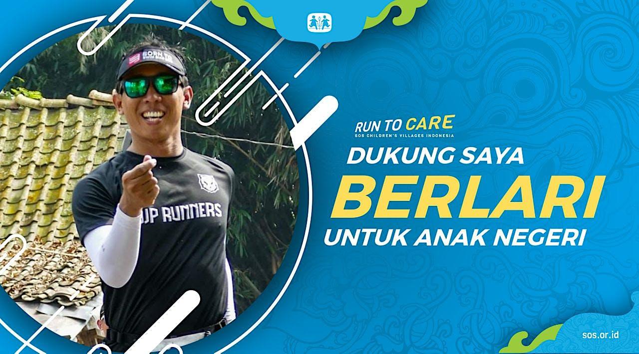 Parwata Berlari 150KM untuk Mimpi Anak Indonesia