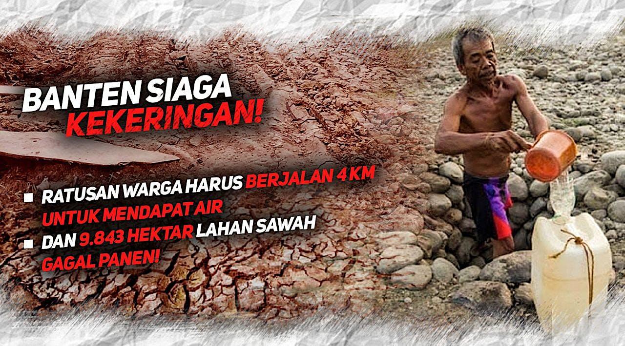 Bantu Alirkan Air Bersih untuk Banten
