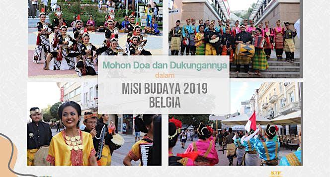 Bantu KTFUI Lestarikan Budaya Indonesia di Belgia