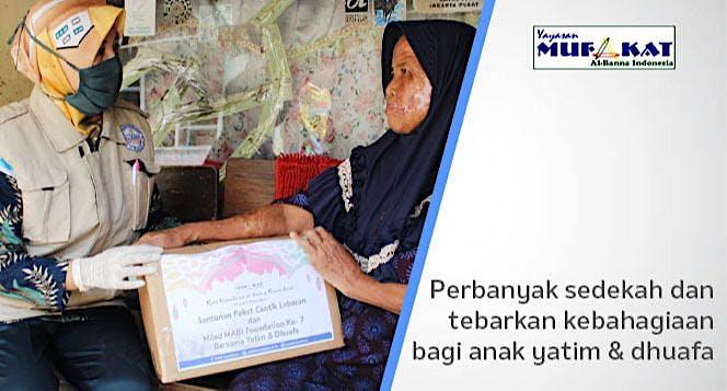 #BerbagiSedekah untuk Yatim dan Lansia Dhuafa