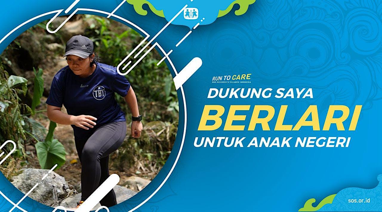 Harsi berlari 150KM untuk Mimpi Anak Indonesia