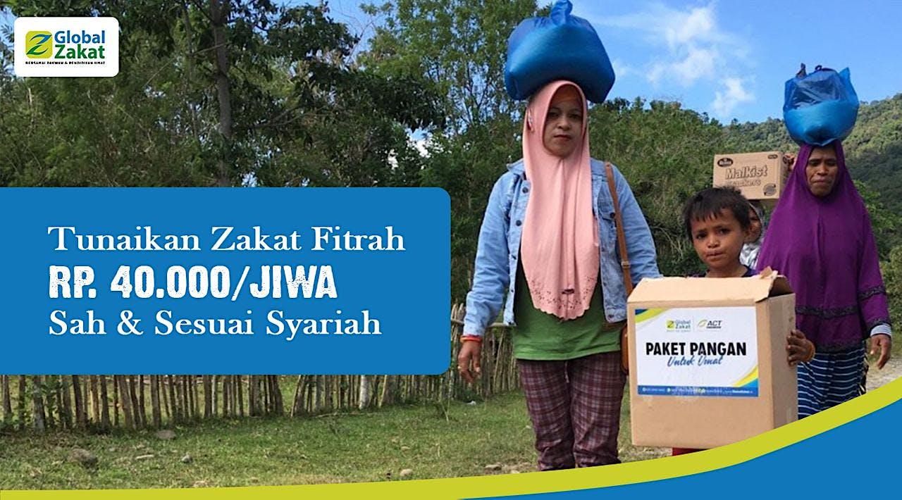 Zakat Fitrah Rp 40.000/Jiwa Sebelum Ramadhan Usai