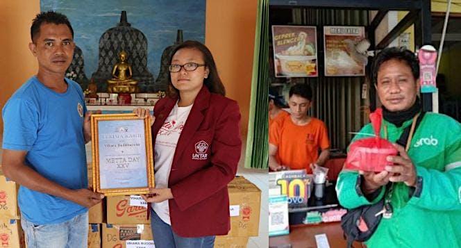 Bantuan Sembako Panti Sosial, Shelter Hewan & Ojol