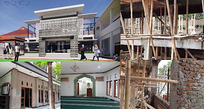 Bantu Kami Perluasan Masjid SMAN 1 Bandung